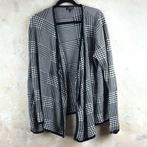 The Limited Houndstooth Cardigan Sweater 15